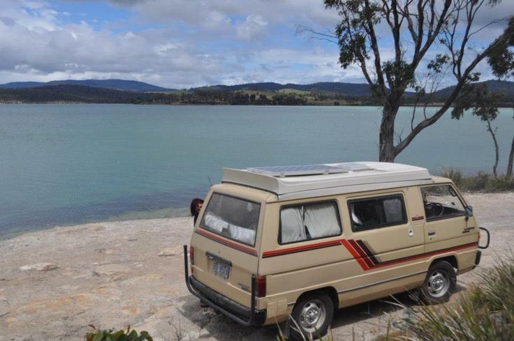 Free+Camping+and+Budget+Holiday+in+Tasmania,+Australia+in+a+Camper