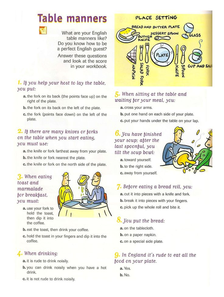 Pinterest the world s catalog of ideas for Table etiquette rules