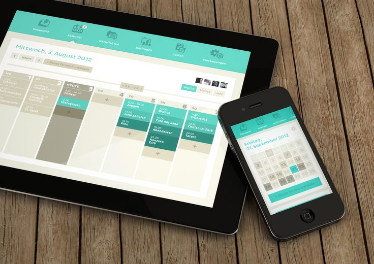 Clyp - Calender - iPhone + iPad   Designer: Riccardo Carlet