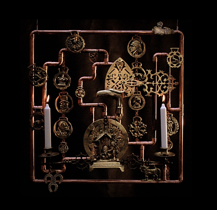 capricious steampunk bookends. Assemblage  67 74 best images on Pinterest art Boxes and
