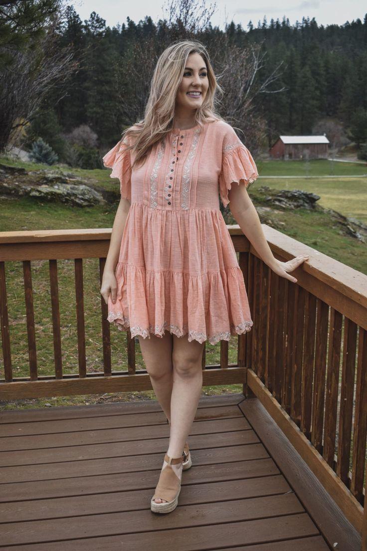Fun and Flirty Spring Dress