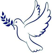 Resultado de imagen para palomas de la paz para colorear