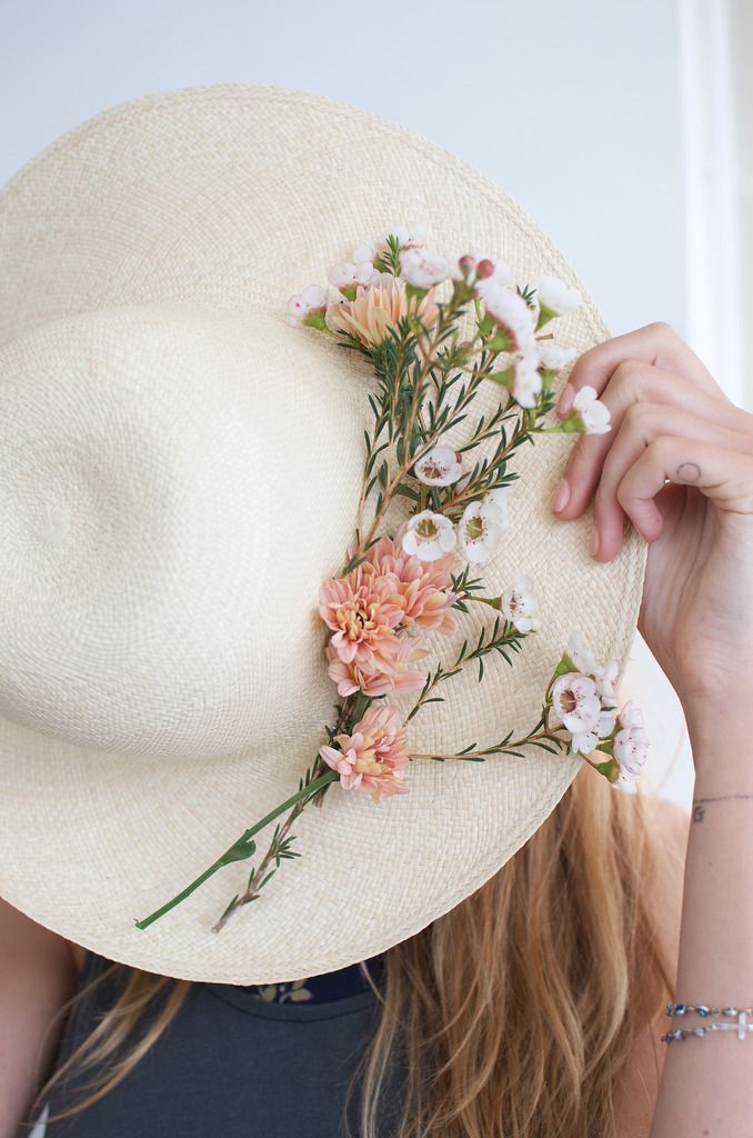 The Next Big Flower Trend Is In Bloom Floral Bridal Hats Bridal Hats Flower Hats Wedding Hats