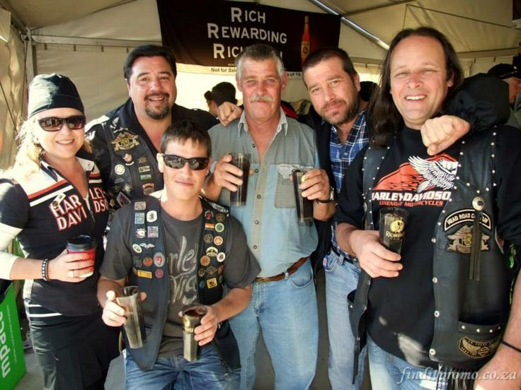 Harley riders are like one big family sharing a mutual love for the open road - #NelspruitMotorShow2014