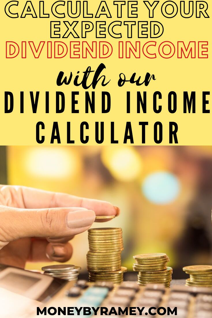 Calculate your expected dividend with our dividend