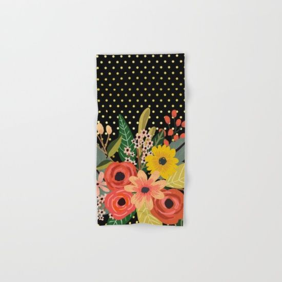 #flowers #bouquet #towels Available in different #giftideas products. Check more at society6.com/julianarw
