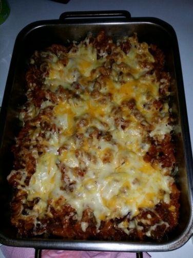 Macarrones con chorizo para #Mycook http://www.mycook.es/receta/macarrones-con-chorizo/