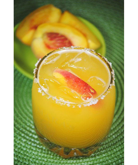 Peach Margarita | recipes to try | Pinterest