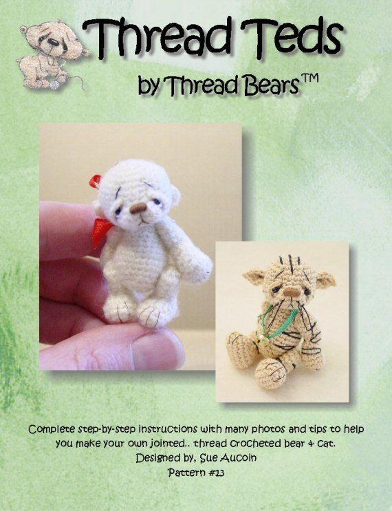 8 Best Thread Bears Images On Pinterest Crochet Animals Amigurumi