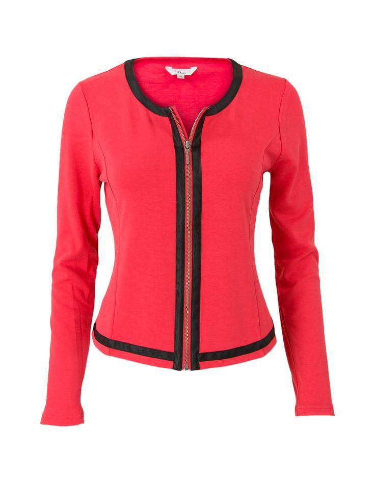 Jasje rood koop je online bij Miss Etam. Afhalen in één van onze 130 winkels of snel thuis bezorgd. 30 Dagen bedenktijd. Bestel Direct!