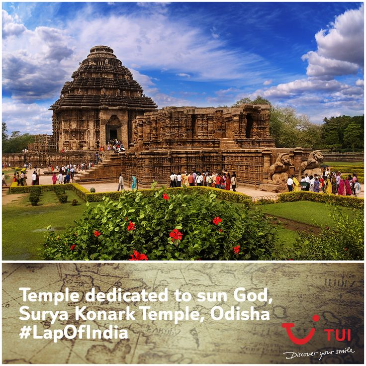 Did you know? The Konark Sun Temple was built by a workforce of 1,200 artisans in the 13th century. It is also a UNESCO World Heritage Site and left us awestruck! #LapOfIndia