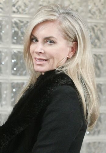 """Days....   stopped watching for years, then they had to go and bring Kristen back...  she's the reason I started watching in the first place years ago....    Eileen Davidson as """"Kristen DiMera"""". #DOOL"""