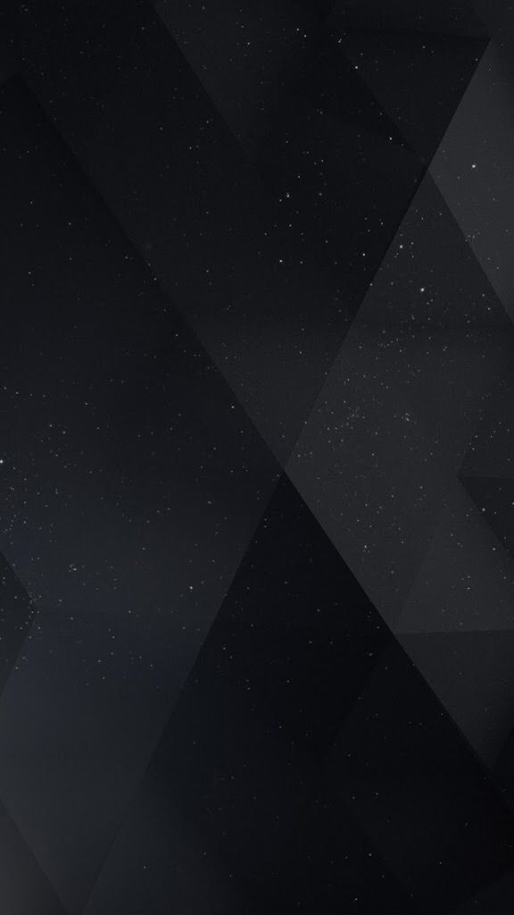iPhone, Origami, Galaxy, Stars, Black Wallpaper