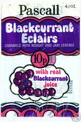 Pascall Blackcurrent Eclairs