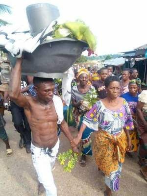 Lawmaker Maria Ude Nwachi gives update on 70 year old widow banished from Ebonyi community for having sex with 30 year old man http://ift.tt/2eRN809