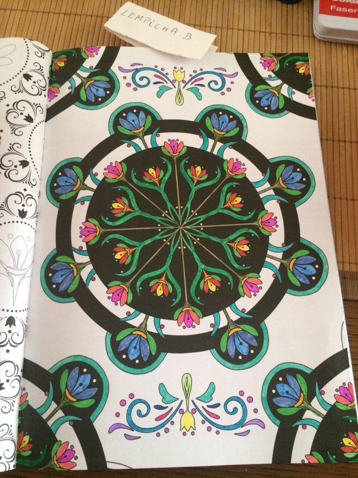 Livre Frozen de chez Hachette Loisirs fait au feutre stabilo pen 68 , bics kids , Edding et papermate