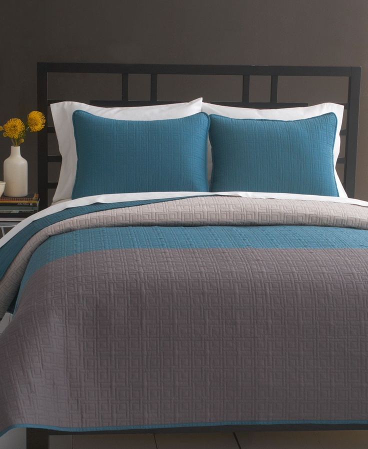 Bryan Keith Bedding, Signature Color Block Quilts - Quilts & Bedspreads - Bed & Bath - Macy's