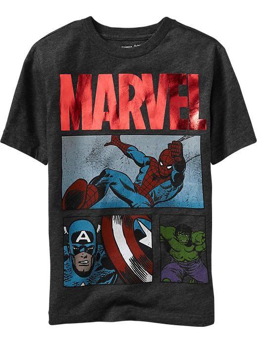 Boys Marvel™ Super-Hero Tees