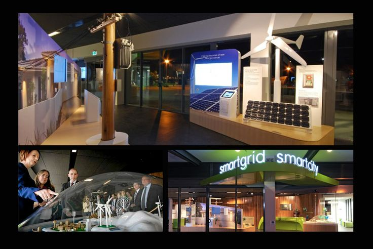 Smart Grid Smart City. Newcastle. Design and build by Paul Begg.