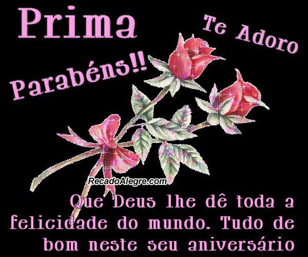 frase de aniversário para facebookcompartilhano fb   Aniversário de Prima - Frases e Imagens Para Facebook » Recado ...