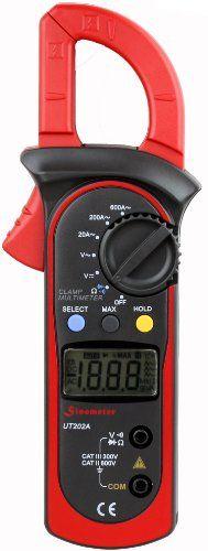 $23.98 - Uni-Trend UT202A Auto-ranging AC 600 Amp Clamp Meter UNI-T http://www.amazon.com/dp/B005FSSKJA/ref=cm_sw_r_pi_dp_9bg-ub1FA9593