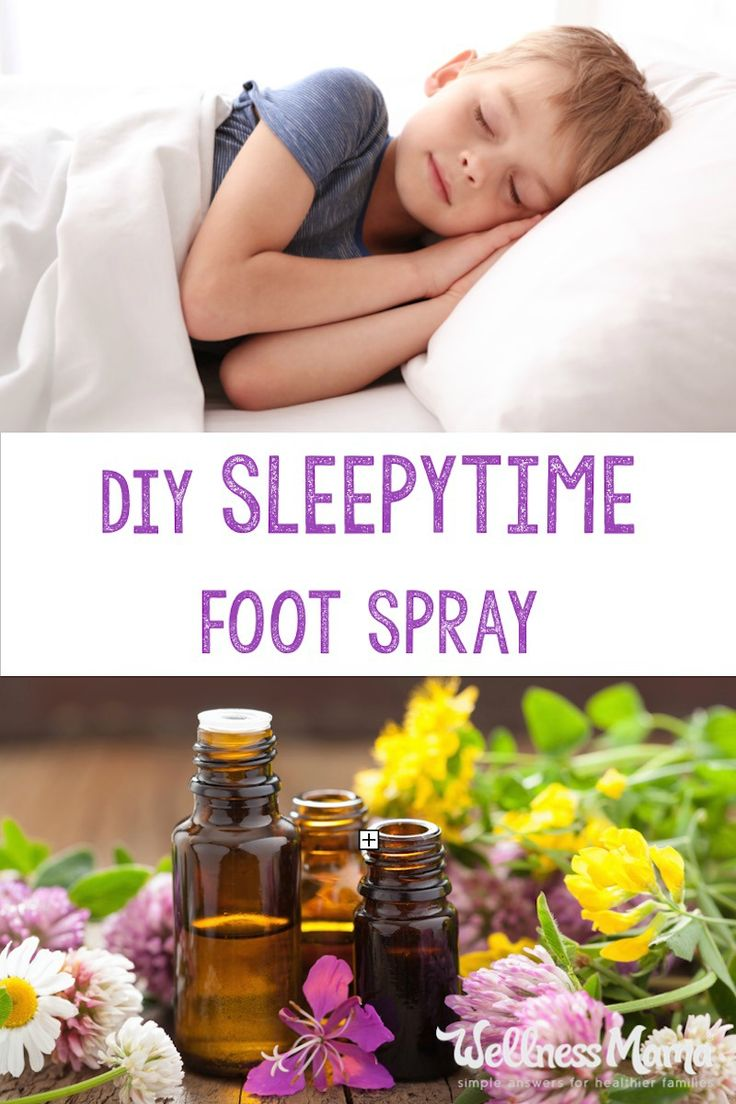 This simple sleepytime foot spray combines the benefits of magnesium oil with the calming and relaxing properties of lavender and chamomile essential oils.