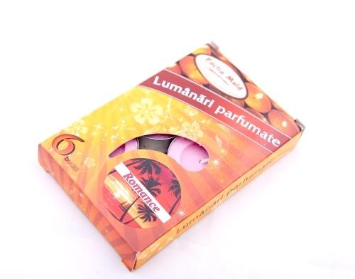 Lumanari parfumate 6/set Romance | Misavan Curatenie