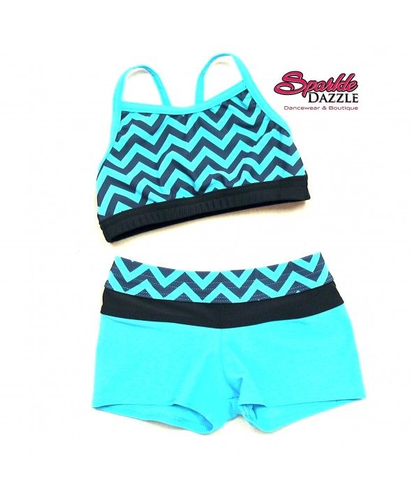 chevron shoes for girls | chevron print crop banded shorts set be the first to review this ...