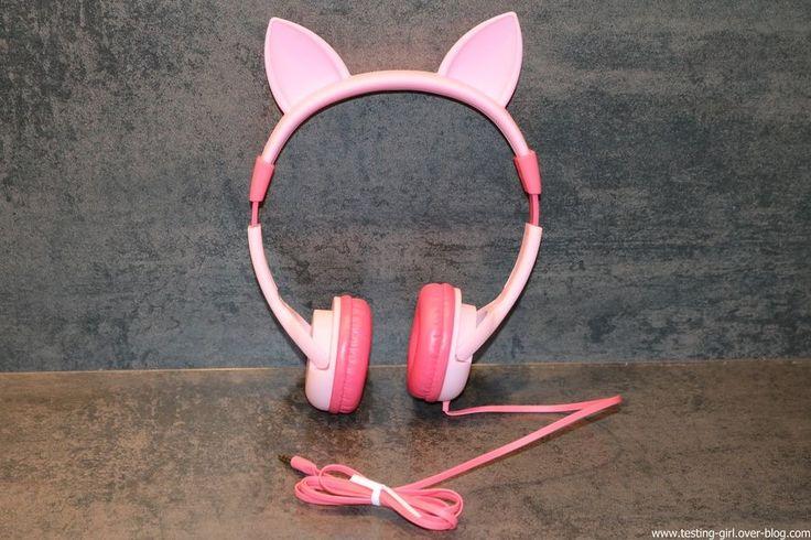 Le casque audio IC-HS01 pour enfant avec limitation BoostCare de iClever - Le blog de Testing-Girl