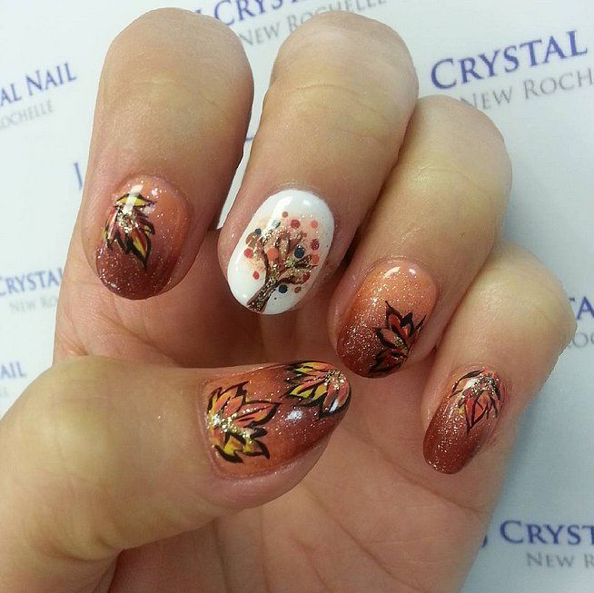 DIY Fall Nail Art Ideas | POPSUGAR Beauty