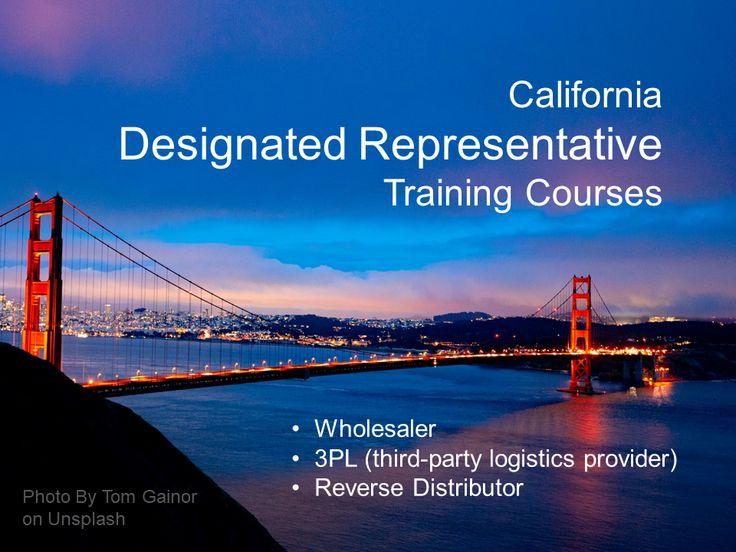 CA Designated Representative Training Courses in 2020 | Training courses, Online training courses, Training classes