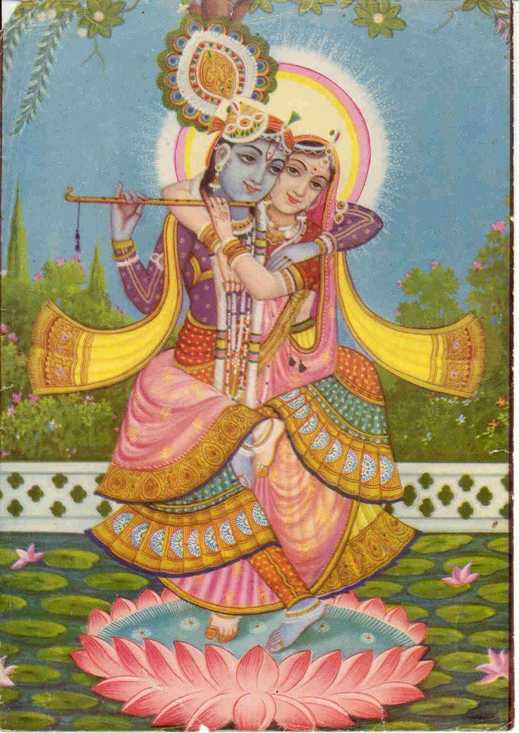 Krishna e Radha