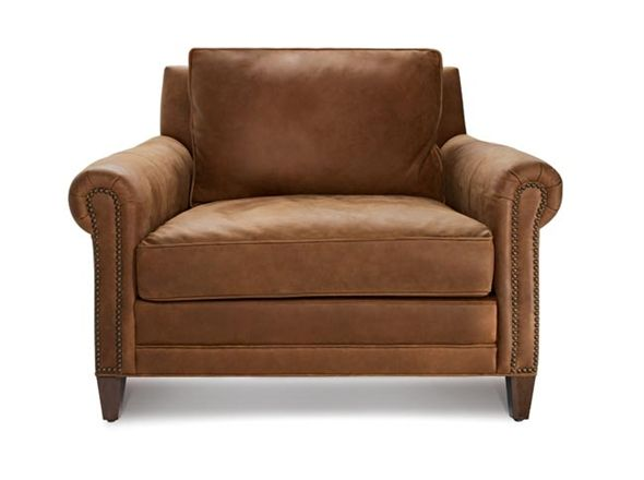 Great Britain Armchair | Bay Leather Republic