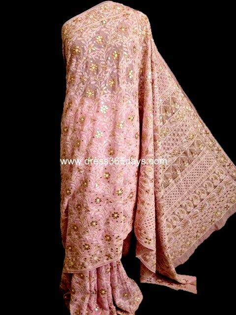 46 Best Images About Chikankari And Kamdani Work In