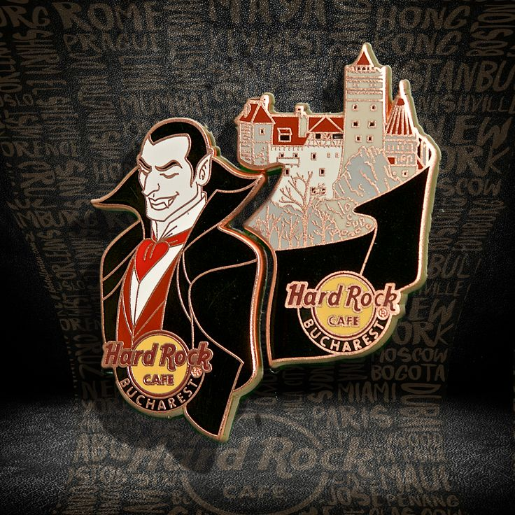 Dracula Pin Set #pins #hardrockcafebucharest