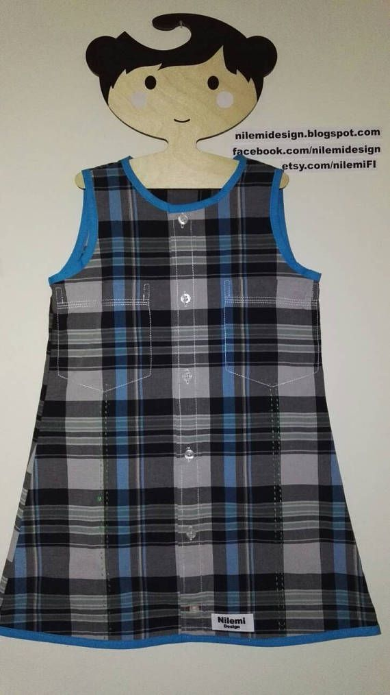 Paula Playtime-dress for 4year recycled