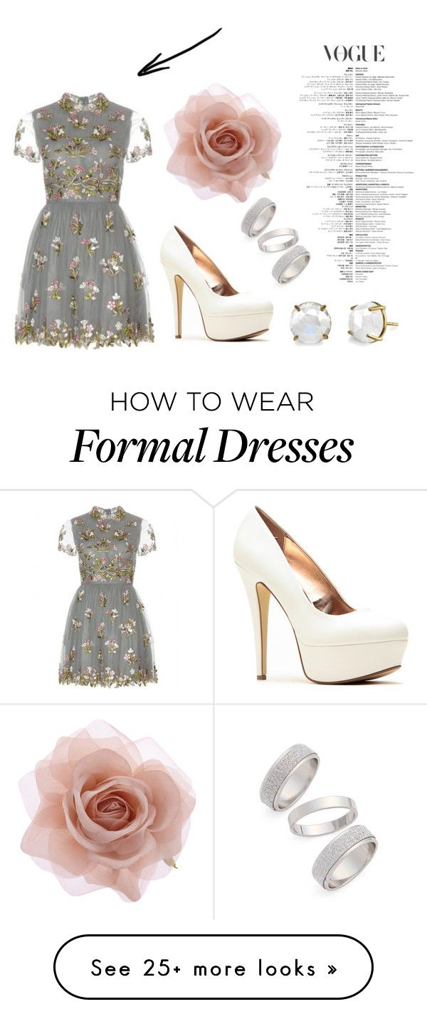 """Formal wear"" by bubblescaramel on Polyvore featuring Valentino, Topshop, Accessorize, women's clothing, women, female, woman, misses and juniors"