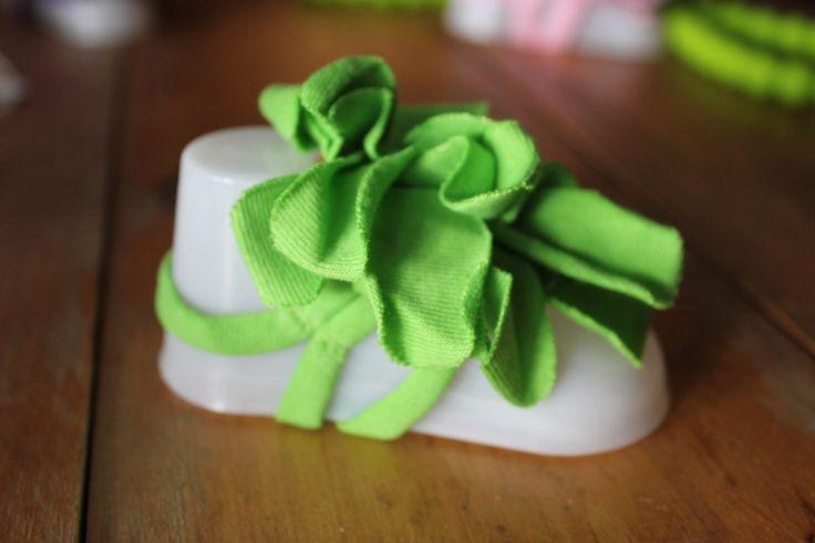 Baby Foot Flowers - Green
