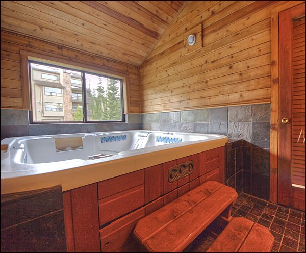 indoor hot tub and fireplace - Bing Images