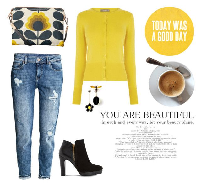 Sunshine on my shoulders makes me happy by lorainejh on Polyvore featuring polyvore, fashion, style, Dune, Orla Kiely and clothing
