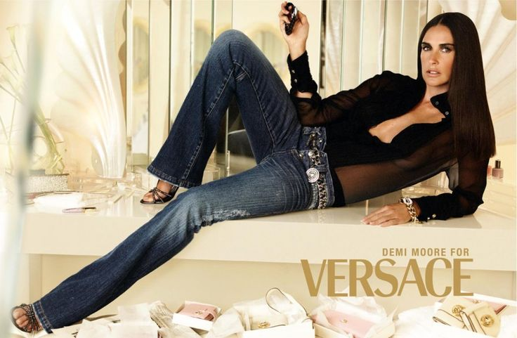 DEMI MOORE for Versace -  2016