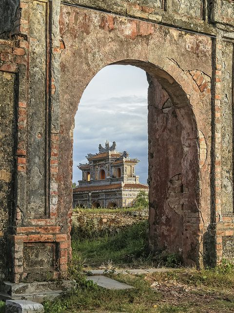 The Citadel, Hue, Vietnam #travel