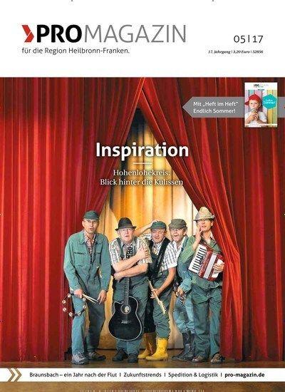 Inspiration #Hohenlohekreis: Blick hinter die Kulissen  Jetzt in PROMAGAZIN:  #Heilbronn #Franken #Musik #Theater