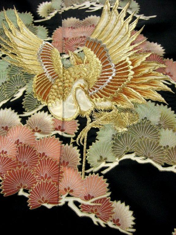Kimono detail from kimokame.com