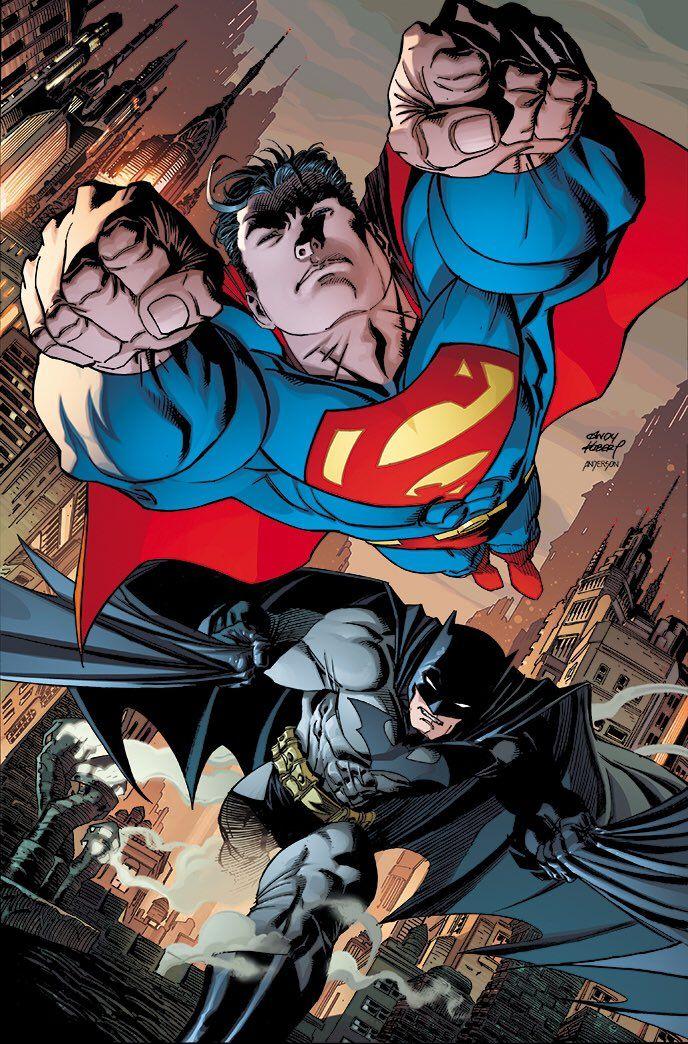 Twitter Batman And Superman Superman Art Dc Comics Art