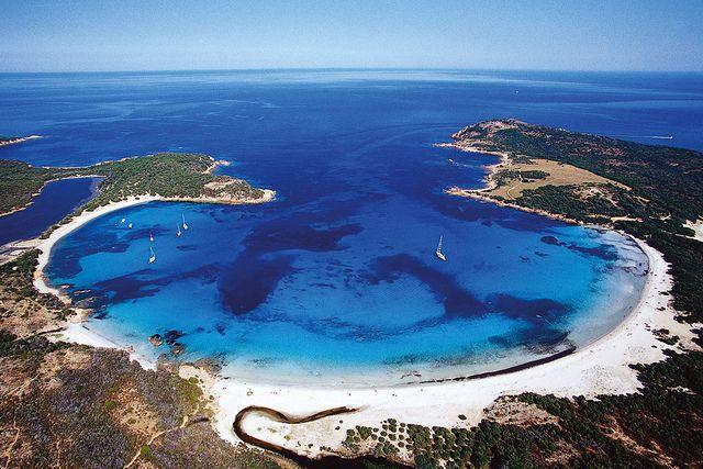 Rondinara Beach, Corsica Een van de vele schitterende stranden in Zuid Corsica en slechts op een half uurtje van Residence Serenamore