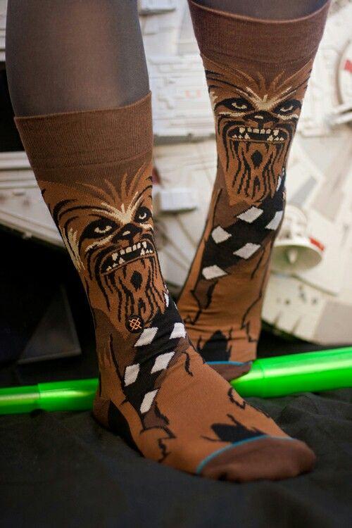 Stance Star Wars Chewie Socks. Shop www.jackinthesocks.ca. $25.95 CAD