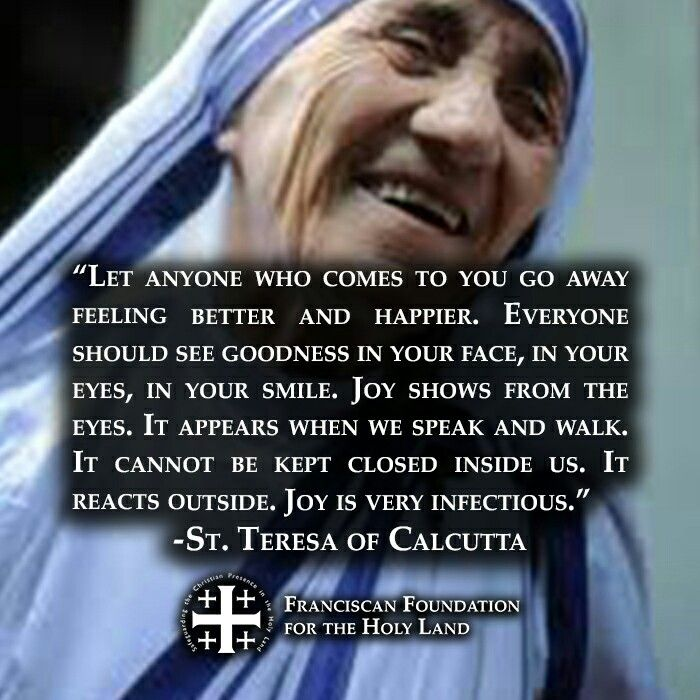 ~St. Teresa of Calcutta