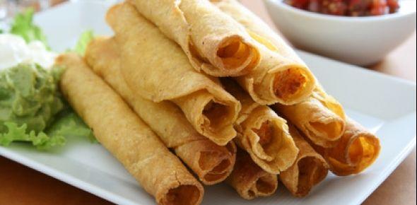 Flauta Recipe (for corn instead of flour tortillas)