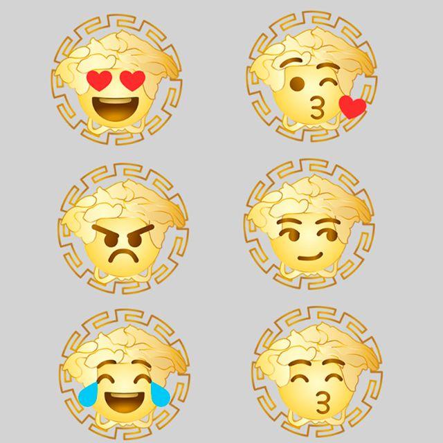 Versace выпустил эмодзи ко Дню всех влюбленных